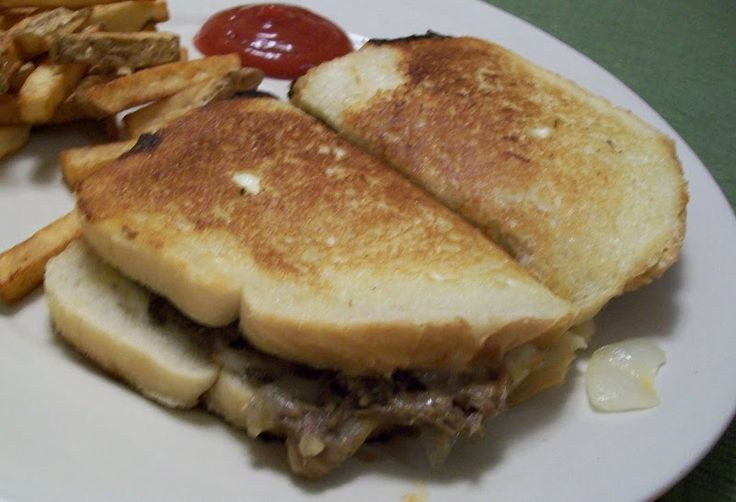 Shredded Beef Patty Melts | Food | Pinterest