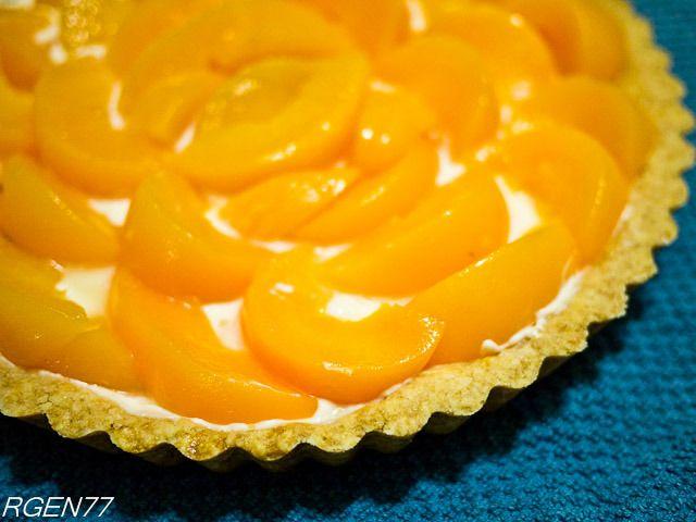 Peaches and Cream Cheese Tart | FOOD!! | Pinterest
