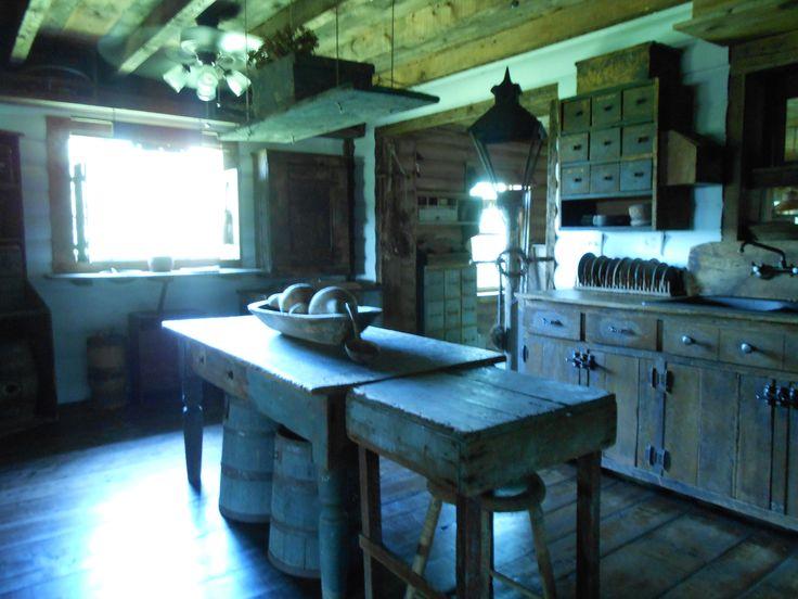 primitive kitchen | Prim home ideas | Pinterest