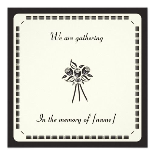 invitations for memorial day