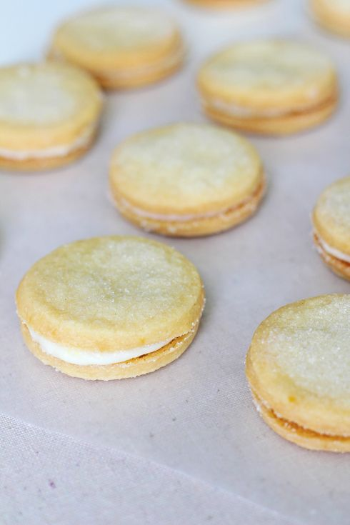 lemon sandwich cookies | Sweet Treats | Pinterest