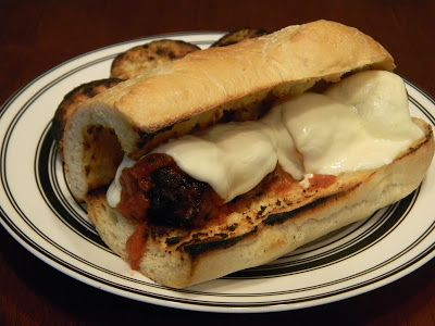 Grilled Meatball Subs | Good Eats | Pinterest