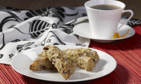 Walnut & Tart Cherry Scones | Recipe
