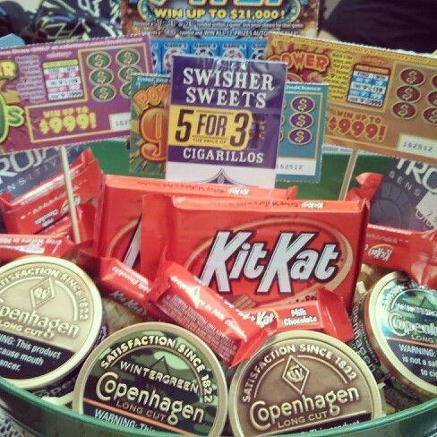 Gift Ideas For Boyfriend Basket My S Birthday