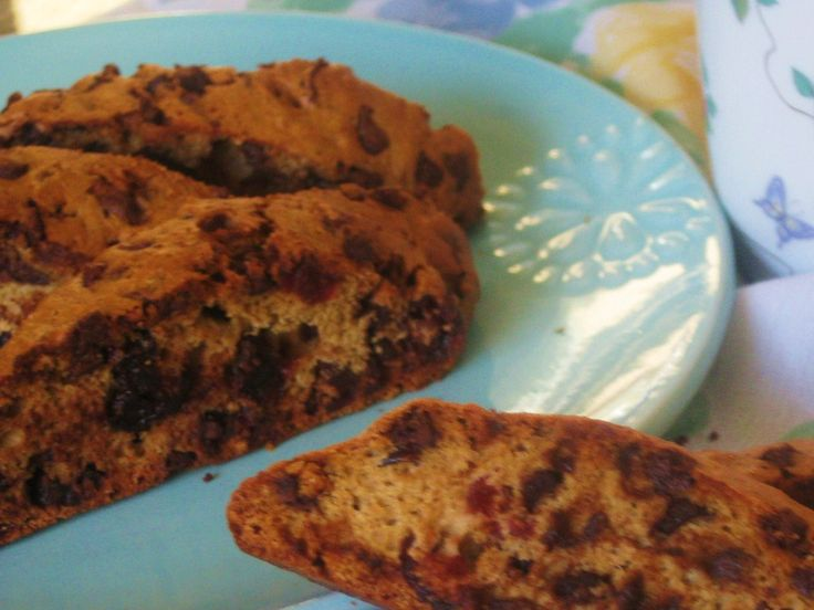 Chocolate Cherry Biscotti | Cookies, Bars & Brownies | Pinterest