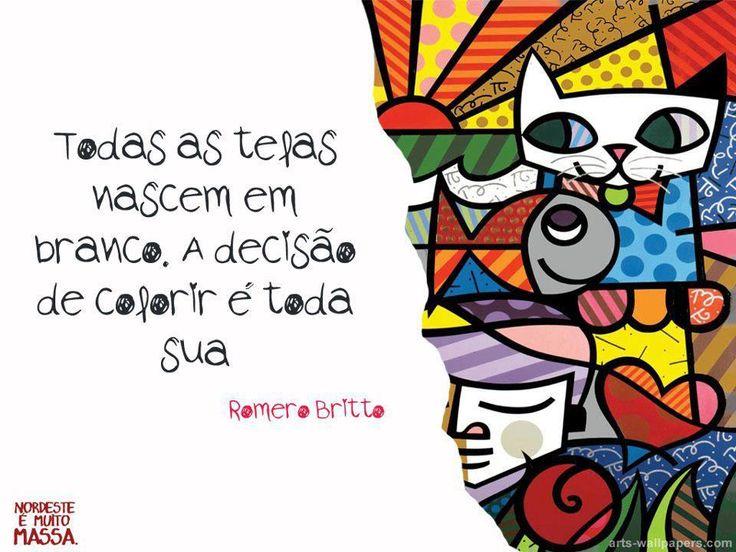 Aprendizagem E Alfabetização Colorido De Romero Brito