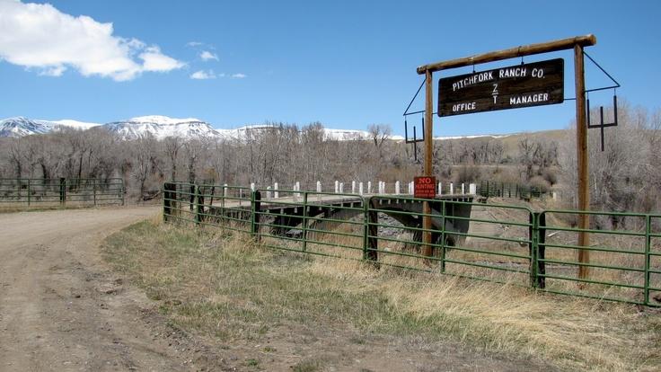 Pitchfork Ranch, Meeteetse, Wyoming