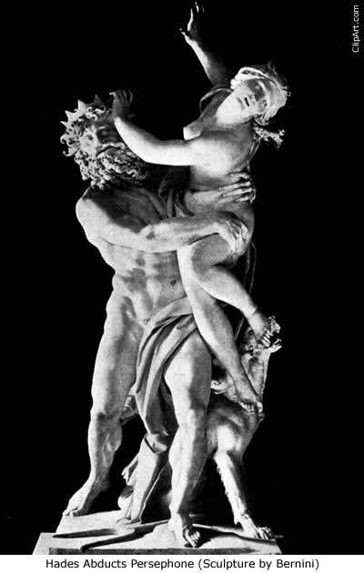 do not believe that Hades captured Persephone against her will  I    Hades Abducting Persephone