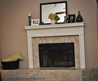 diy fireplace surround living room ideas