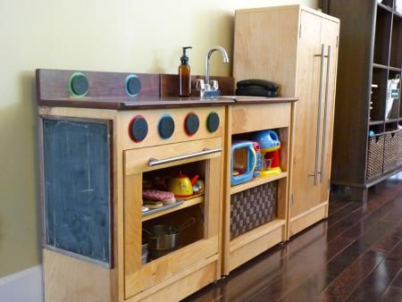 DIY play kitchen plans from Ana White | Christmas 2012 | Pinterest