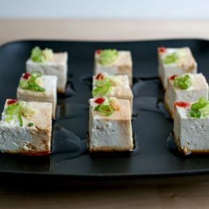 Yakko Tofu Bites Recipe from Food Republic - Begin your Friday evening ...