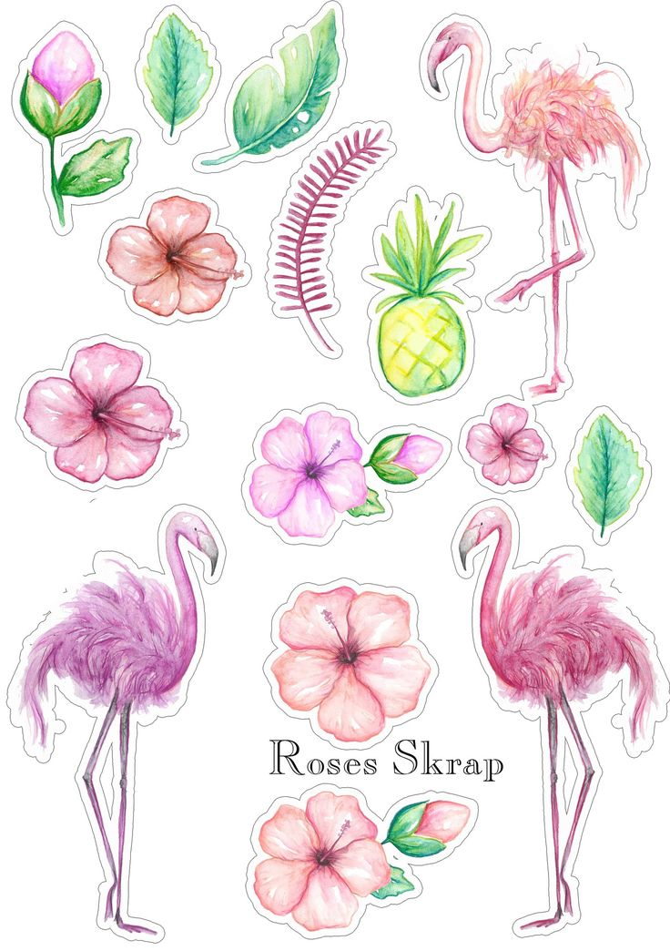 Кавайные рисунки для наклеек