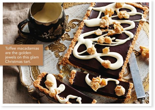 Chocolate macadamia rum tart | recipes | Pinterest
