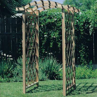 Simple Arbor Trellis Plan 6 13 2014 Pinterest