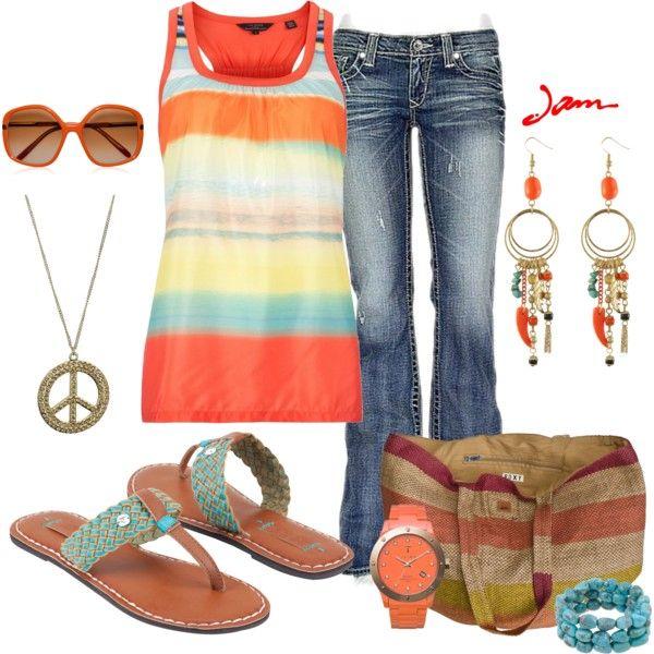 Summer Peace, created by jayneann1809 on Polyvore