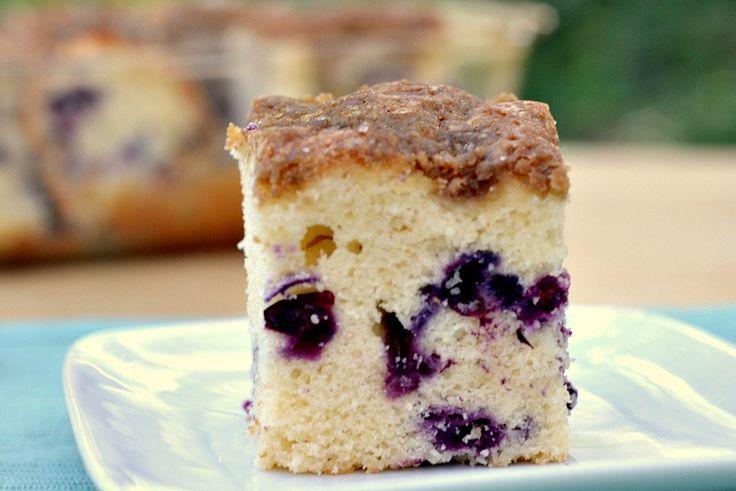 Blueberry Muffin Cake Recipe | Too Much Sugar : ) | Pinterest