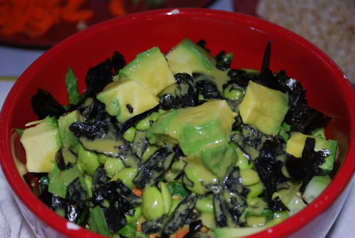 sushi salad | Yummy - Plant Based | Pinterest
