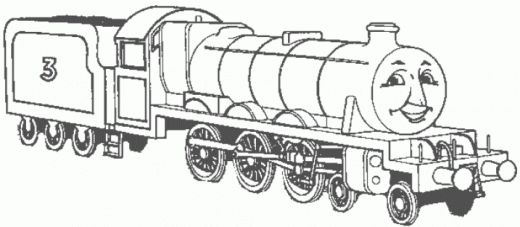 Pin by t rickard on coloring pages pinterest for Henry the train coloring pages