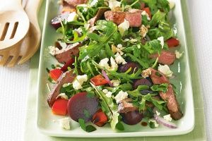 Balsamic lamb and beetroot salad | recipes | Pinterest