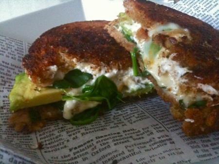 Green Goddess Grilled Cheese | I write. | Pinterest