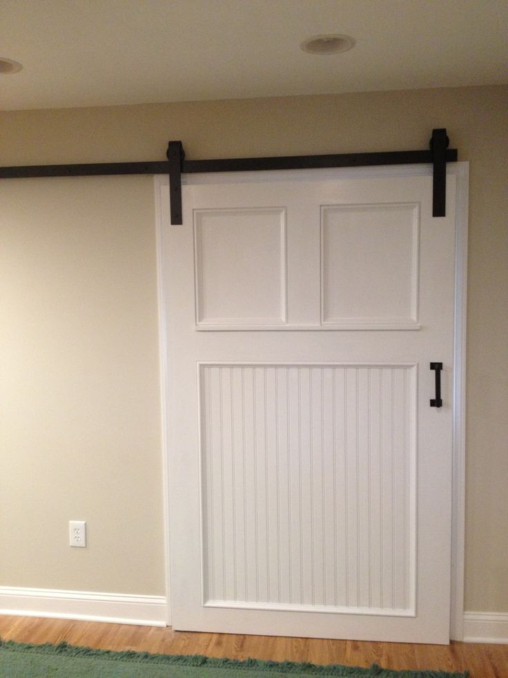 basement utility room barn door for the home pinterest