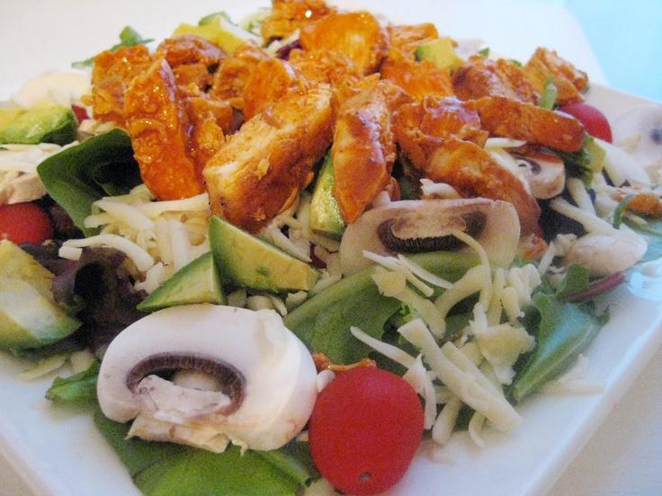 Buffalo Chicken Salad | Salad!! | Pinterest