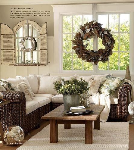 Pottery Barn Living Room Home Remodel Pinterest