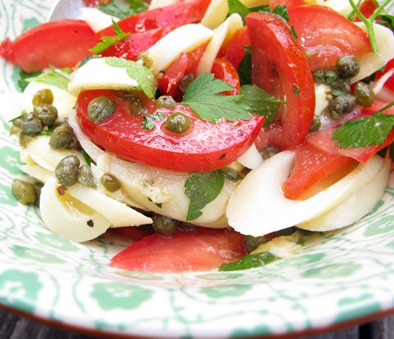 Hearts of palm salad | Salads | Pinterest