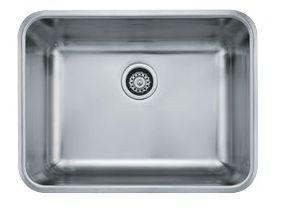 Franke Grande Sink : Franke GDX11023 23 Inch Grande Series Undermount Kitchen Sink ...
