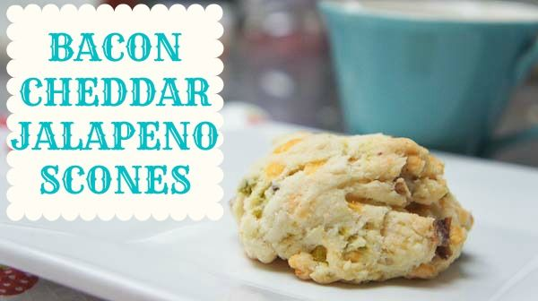 ... your morning with Bacon Cheddar Jalapeño Scones from @debthompson