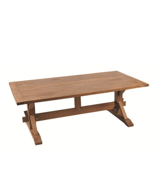 Rectangle wooden pedestal dining table the porkchops are for Rectangular pedestal dining table