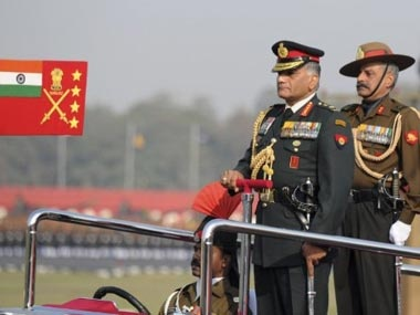 army chief date of birth controversy