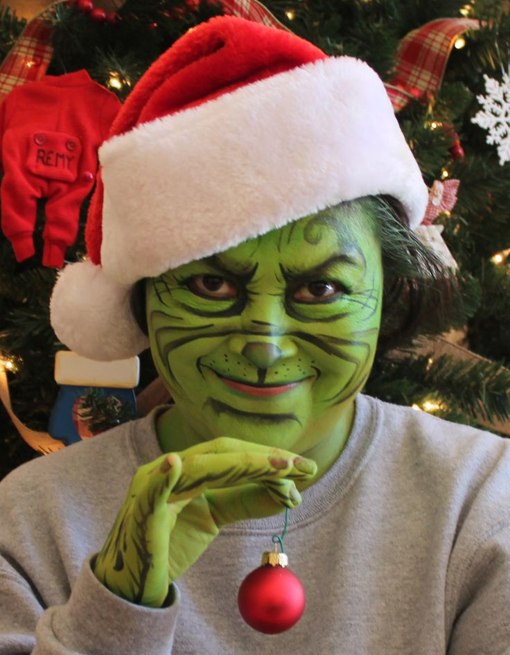 The grinch face painting northern arizona glam squad flagstaff