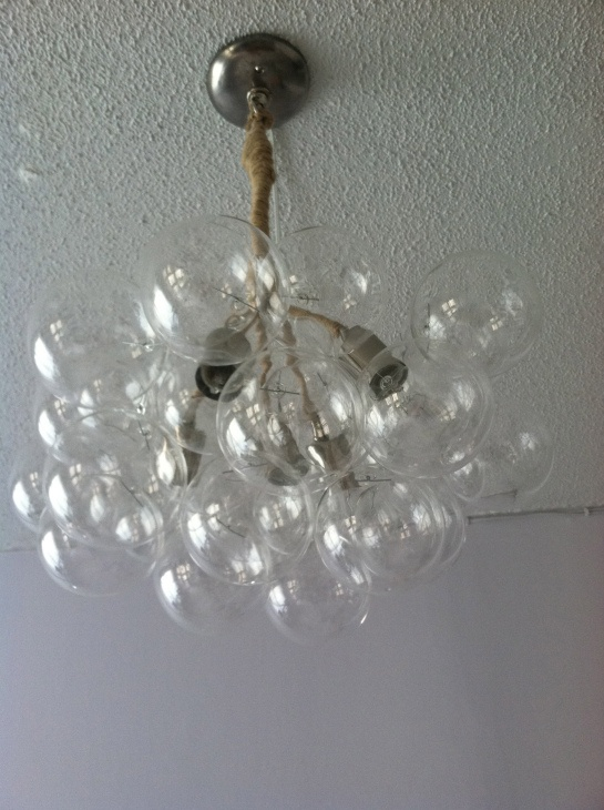 DIY Bubble Chandelier For the Home ♥ ☎