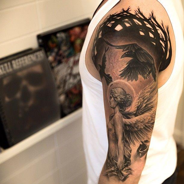 Max Payne Valkyrie Tattoo and Norse Viking Mythology