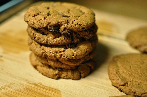 Whole wheat chocolate chip cookies | COOKIES | Pinterest
