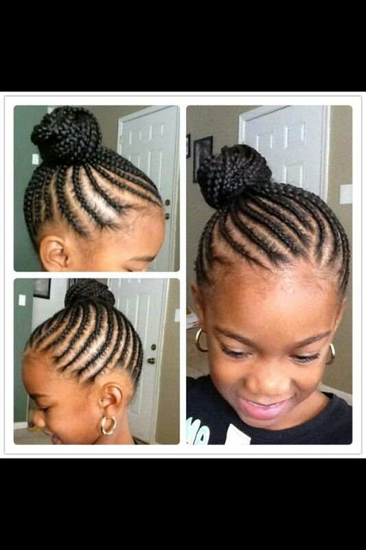 Simple Braided Hairstyles For Little Black Girls