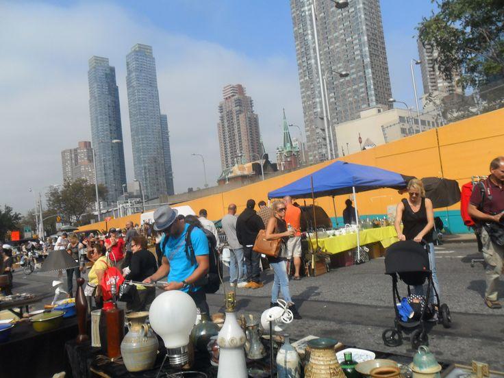 Outdoor Flea Markets