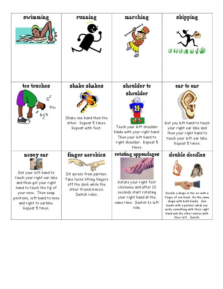 The Go To Teacher: Classroom Management - More brain breaks!