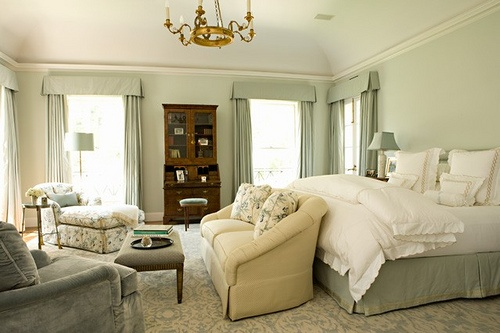 Serene bedroom color palette For the Home