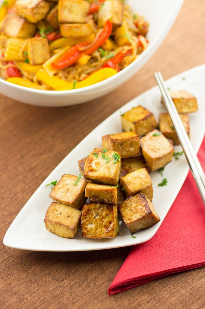 Easy Marinated Baked Tofu - The Table