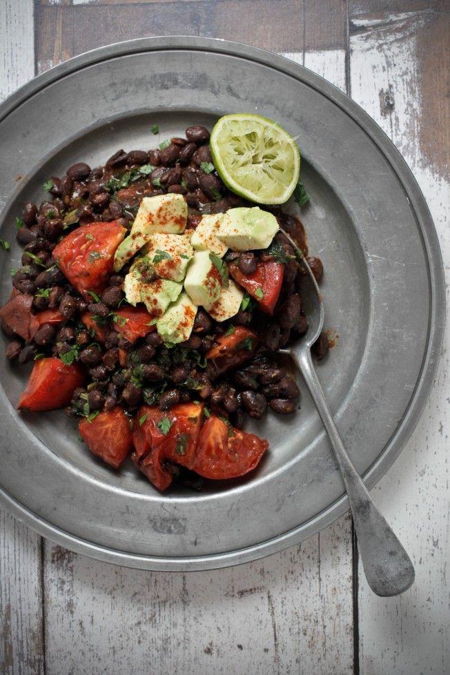 Refried black beans | Inspired Health | Pinterest