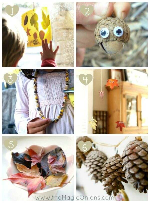 Fall Nature Crafts for Kids - The Magic Onions