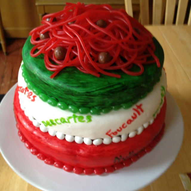 Philosophy Birthday Cake Recipe