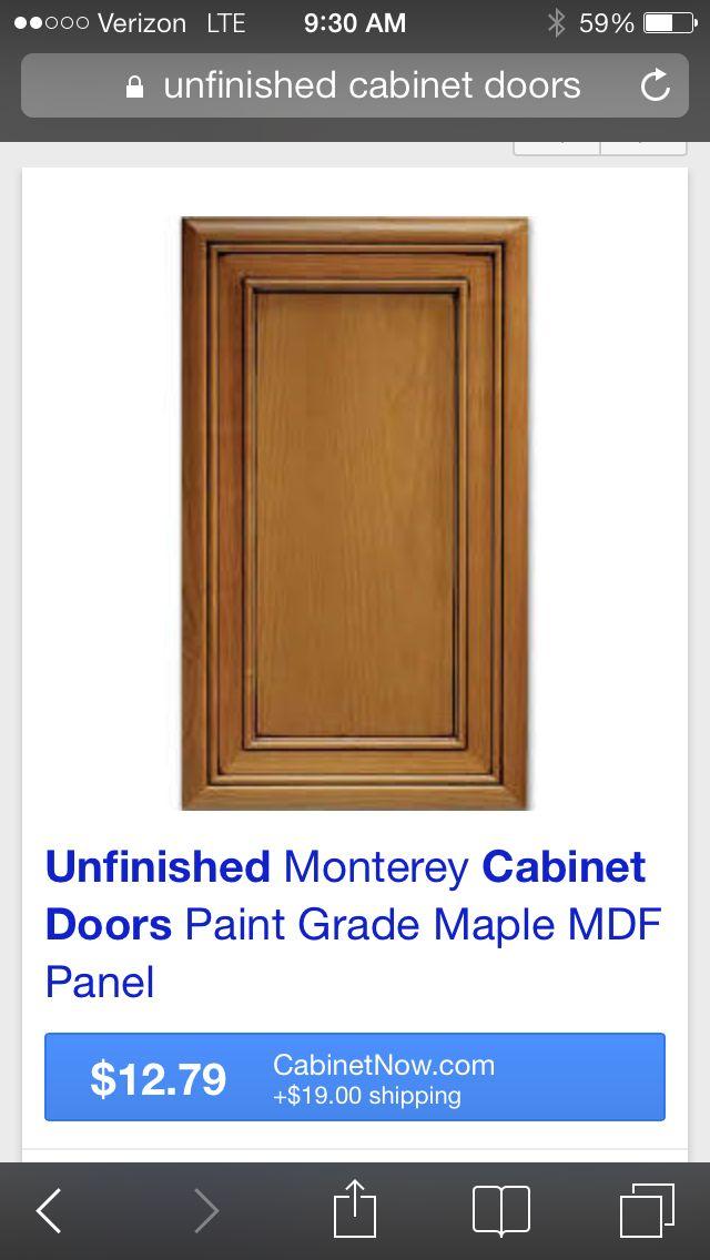 Replacement cabinet door kitchen reno pinterest