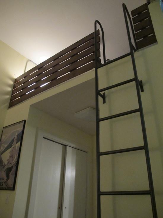 Best Loft Ladder Modern Indoor Living Pinterest 640 x 480