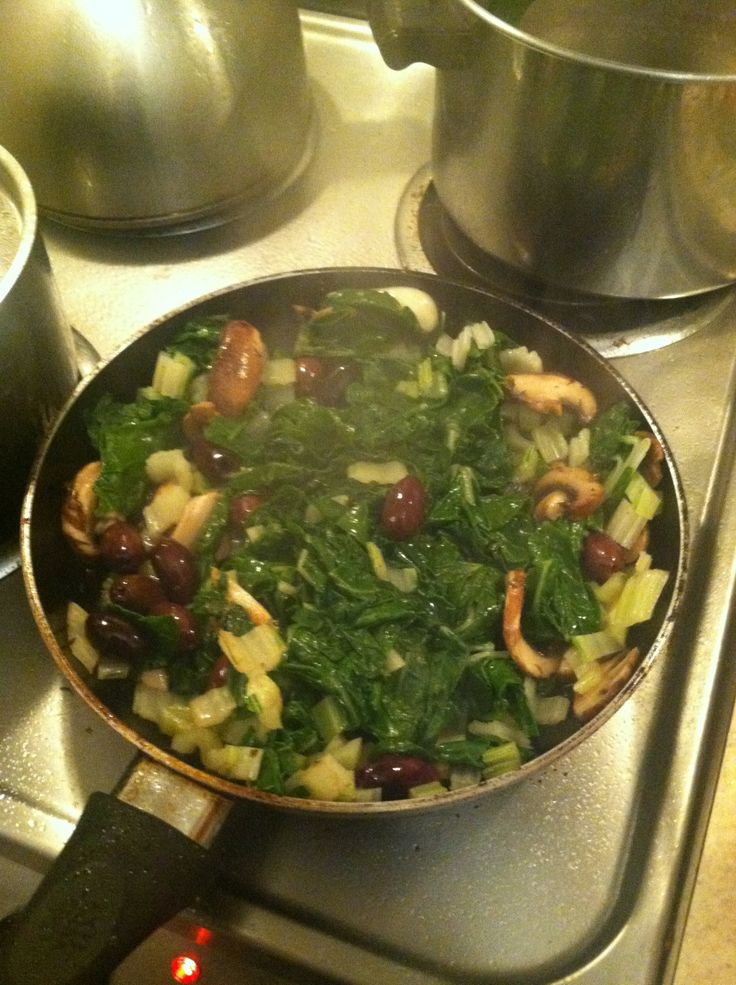 Swiss Chard with Olives and Lemon - I found this recipe on Epicurious ...