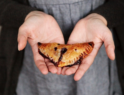 Sour Cherry Turnovers with Goat Cheese | Food & drink | Pinterest