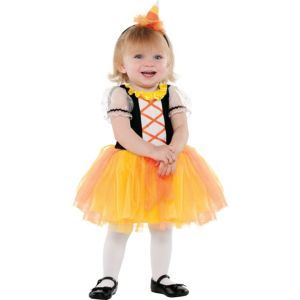 BABY TODDLER Halloween Costume Pattern - CANDY CORN