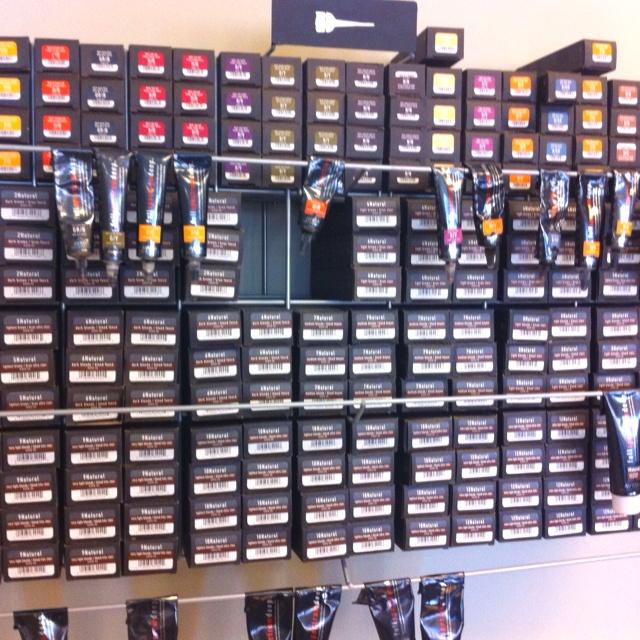 Salon Hair Color Tube Storage Rack Of 22 Model Hair Color Racks   dagpress.com